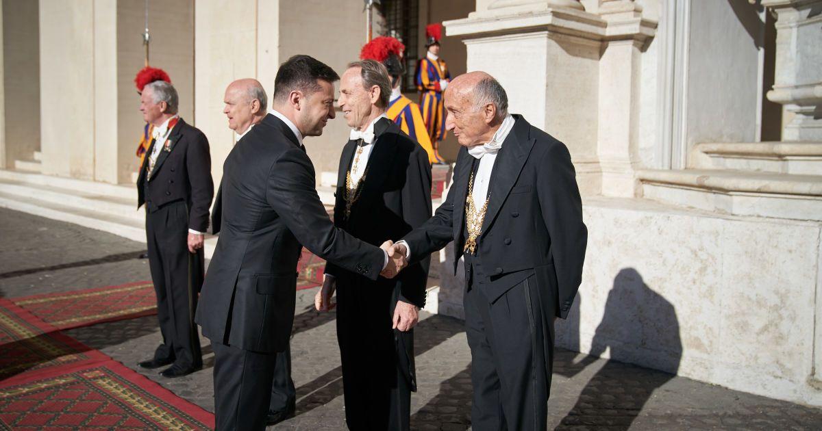 Зеленский в Ватикане @ Офис Президента Украины