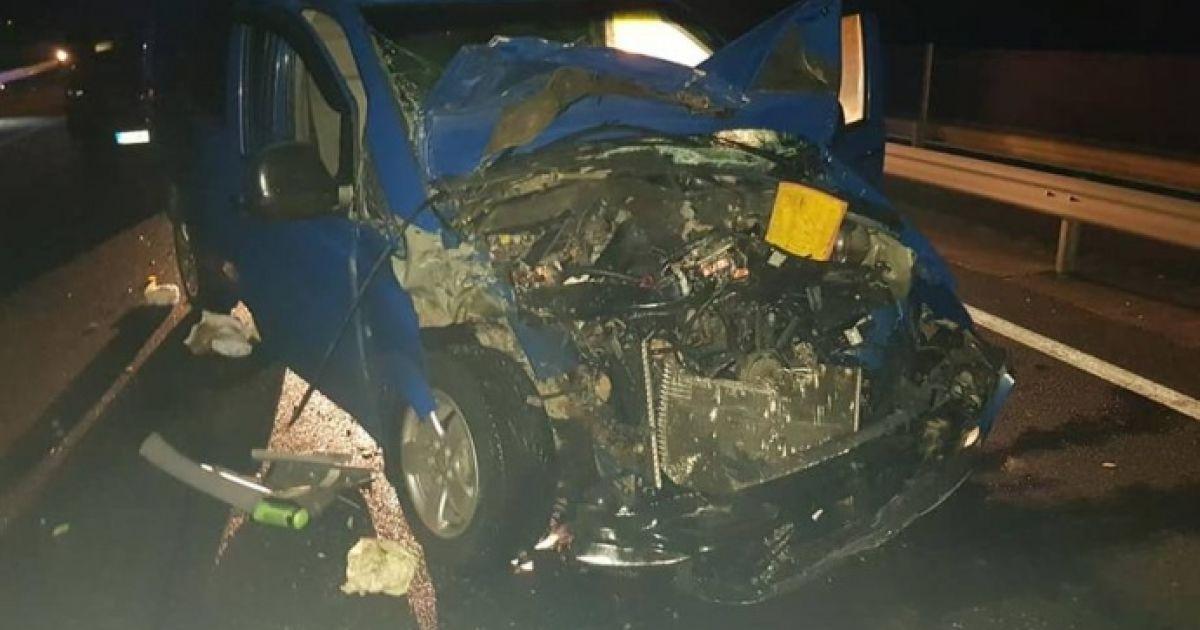 Фото з місця аварії @ bpiautosok.hu