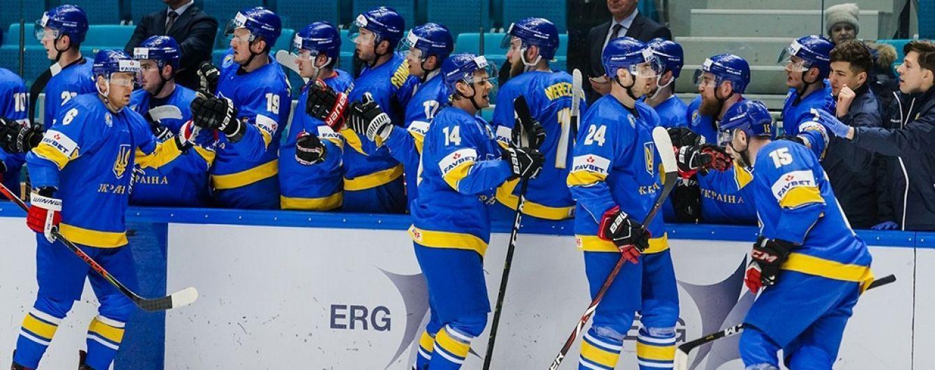 Сборная Украины по хоккею разобралась с Нидерландами в заключительном матче отбора на Олимпиаду-2022