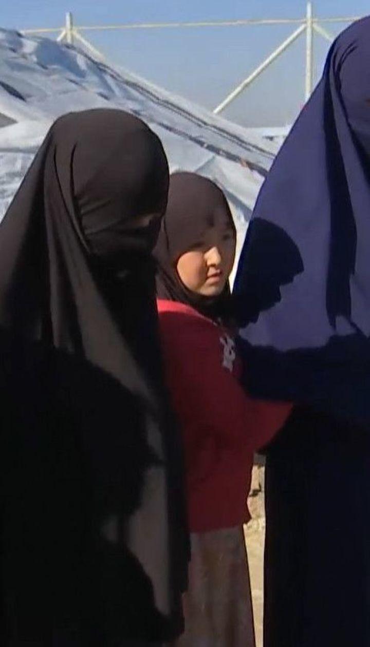 """Украинские жены боевиков """"ИДИЛ"""" просят вернуть их с детьми в Украину"""