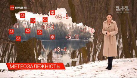 В Україну йде потепління з мокрим снігом та дощем: метеозалежність