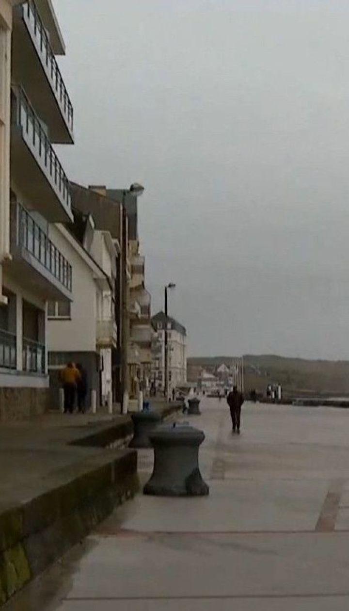 Страны Западной Европы накрыл мощный ураган