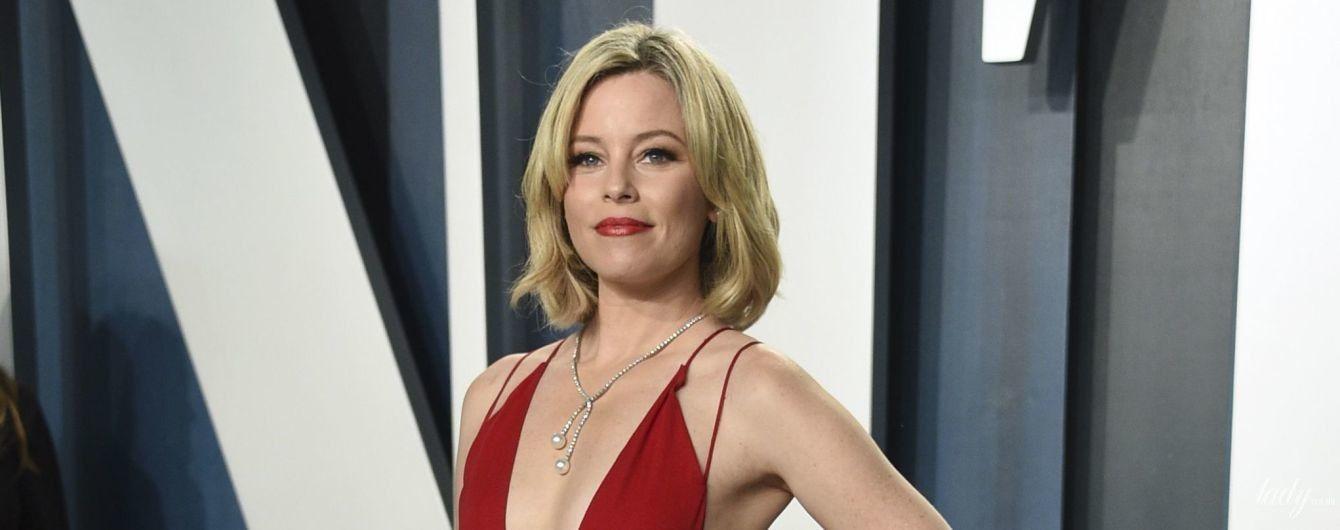 """Два """"Оскара"""" и одно платье: как Элизабет Бэнкс удивила публику на Vanity Fair Oscars Party"""