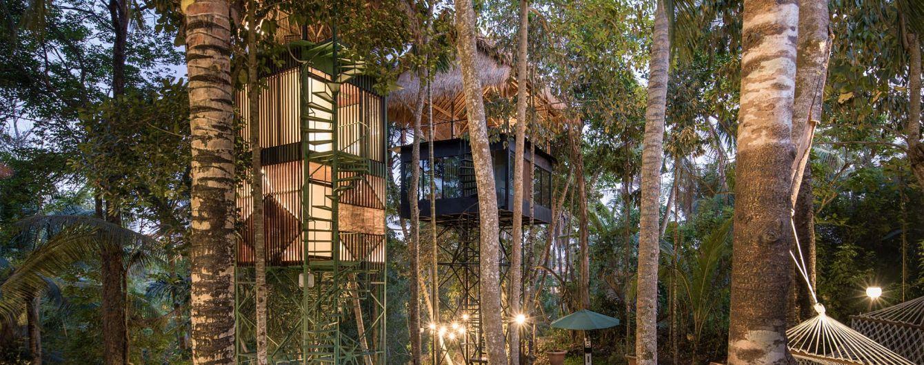 На Бали открыли бутик-отель на деревьях
