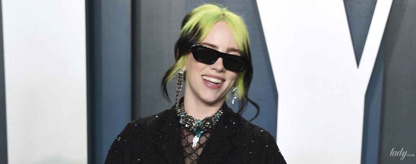 Теперь в Gucci: второй образ Билли Айлиш на Vanity Fair