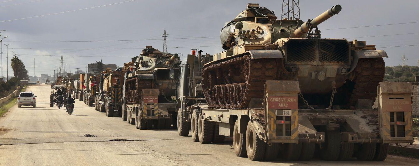 """Туреччина розпочала військову операцію в Сирії. Одне з міст """"накрили"""" артвогнем"""