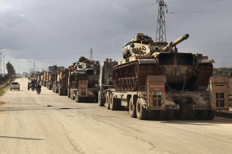 Турецькі військові в Сирії
