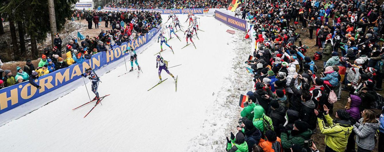 Чемпіонат світу з біатлону. Календар гонок в Антгольці