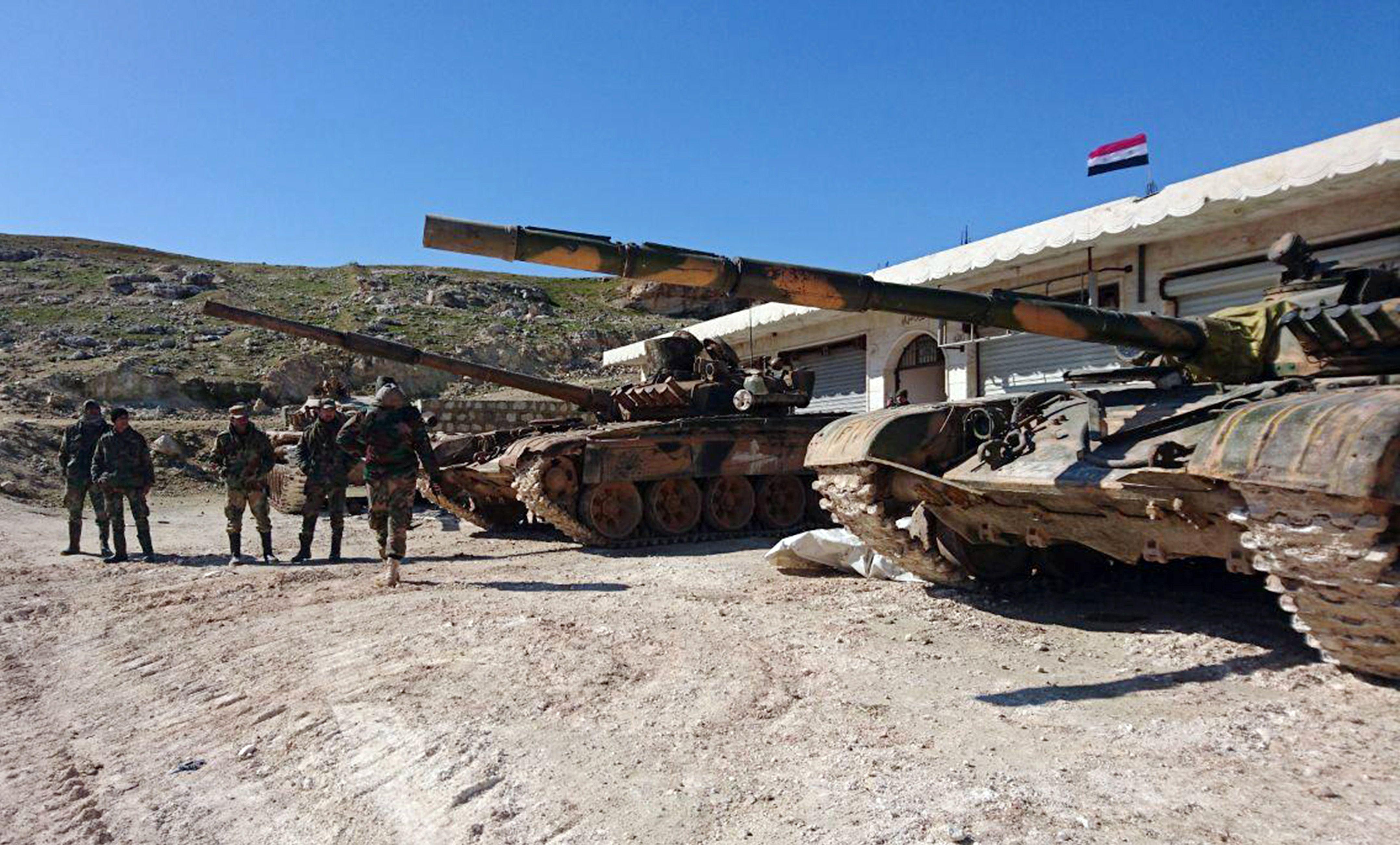 Сирія, війська Асада
