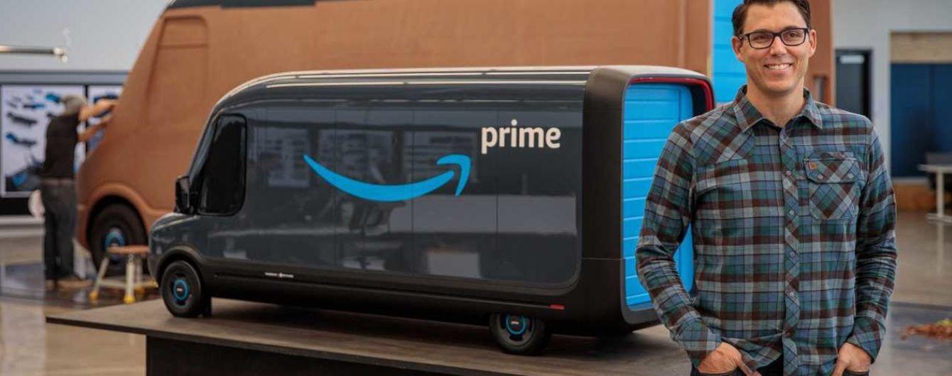 Электрофургоны Amazon впервые представили вживую
