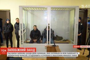 Вероятный передел сфер влияния в Мукачево: суд избирает меру пресечения двум подозреваемым