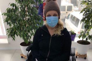 """""""Без паніки"""": Таїсія Повалій розповіла, чому опинилася на інвалідному візку"""