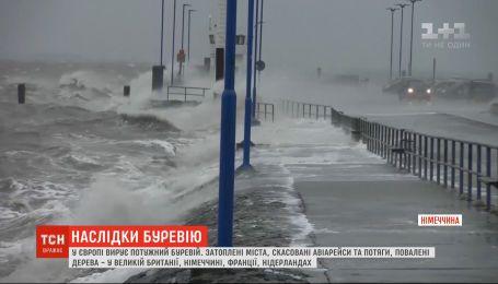 Обесточенные дома и затопленные населенные пункты: в Европе бушует непогода