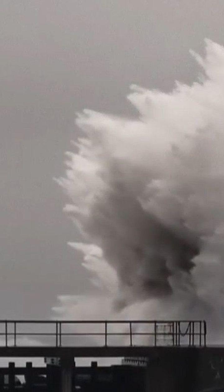 """Західна Європа потерпає від потужного урагану """"Кіра"""""""