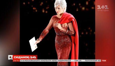"""Джейн Фонда появилась на церемонии вручения """"Оскара"""" в своем старом платье"""