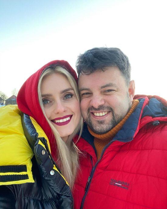 Ірина Федишин замилувала яскравими фото з чоловіком