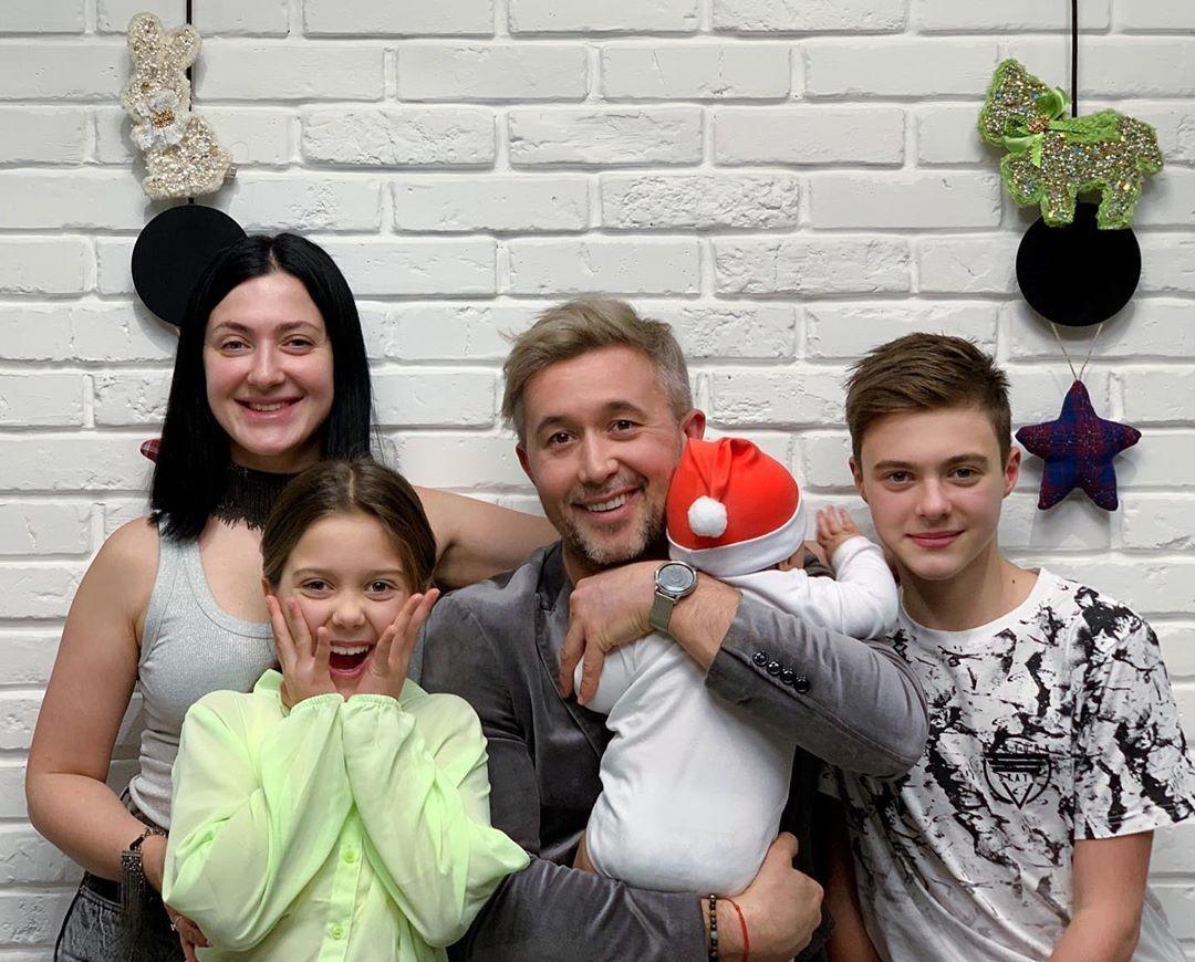 Сергій Бабкін з сім'єю