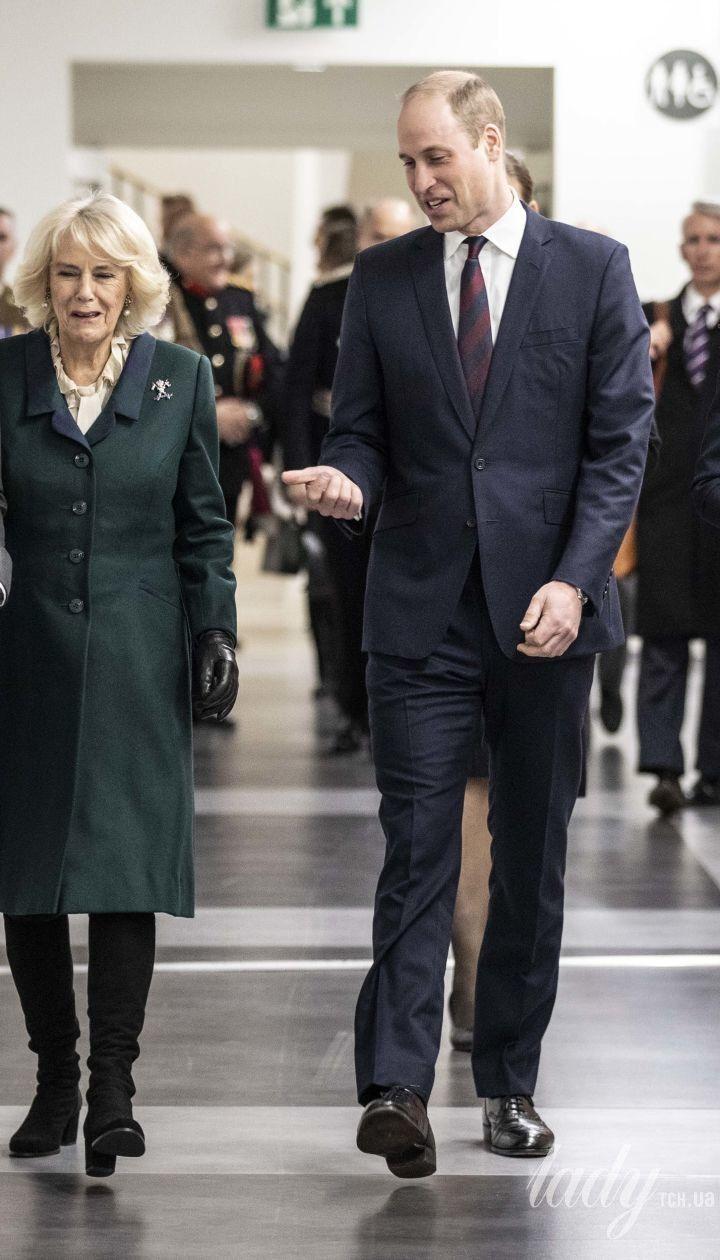 Герцогиня Кембриджська та принц Вільям, герцогиня Корнуольська і принц Чарльз