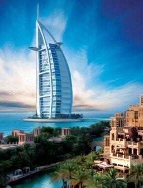 Первые впечатления от города Дубай