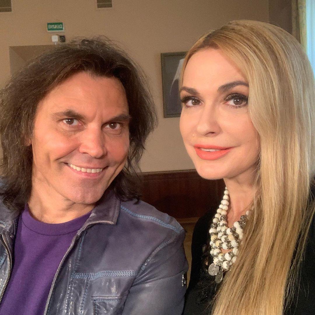 Ольга Сумська з чоловіком