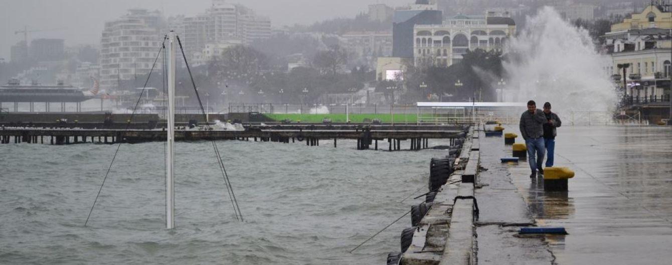 Поблизу анексованої Ялти затонуло судно