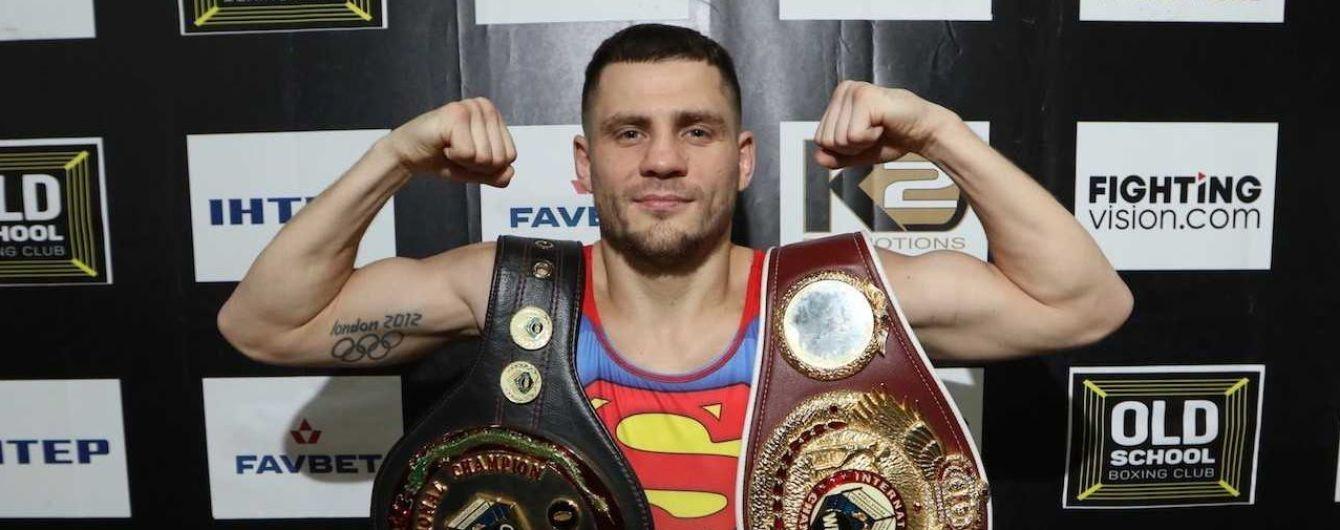 Беринчик в майке супермена потренировался перед защитой чемпионского титула
