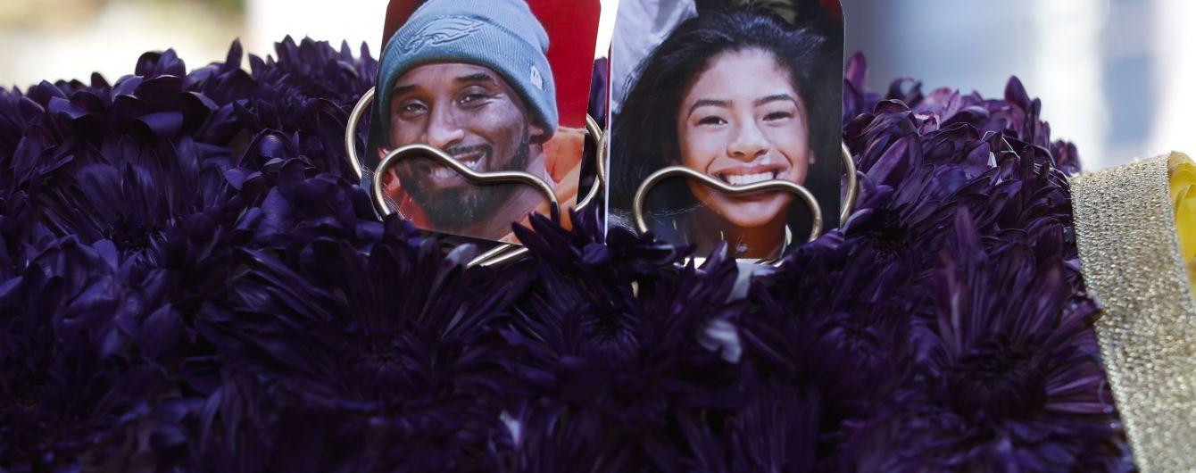 Кобі Браянта разом з дочкою таємно від уболівальників поховали в Каліфорнії