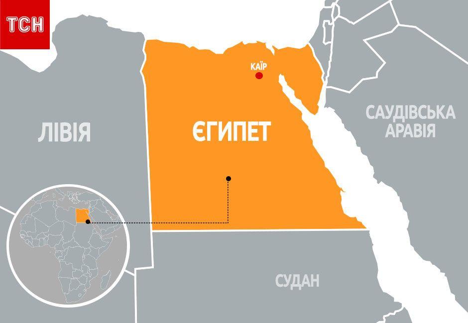 Карта Єгипту, для блогів
