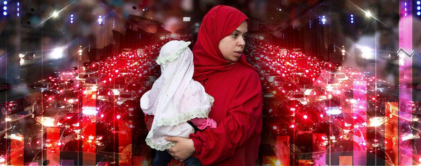 Єгипет під демографічним тиском