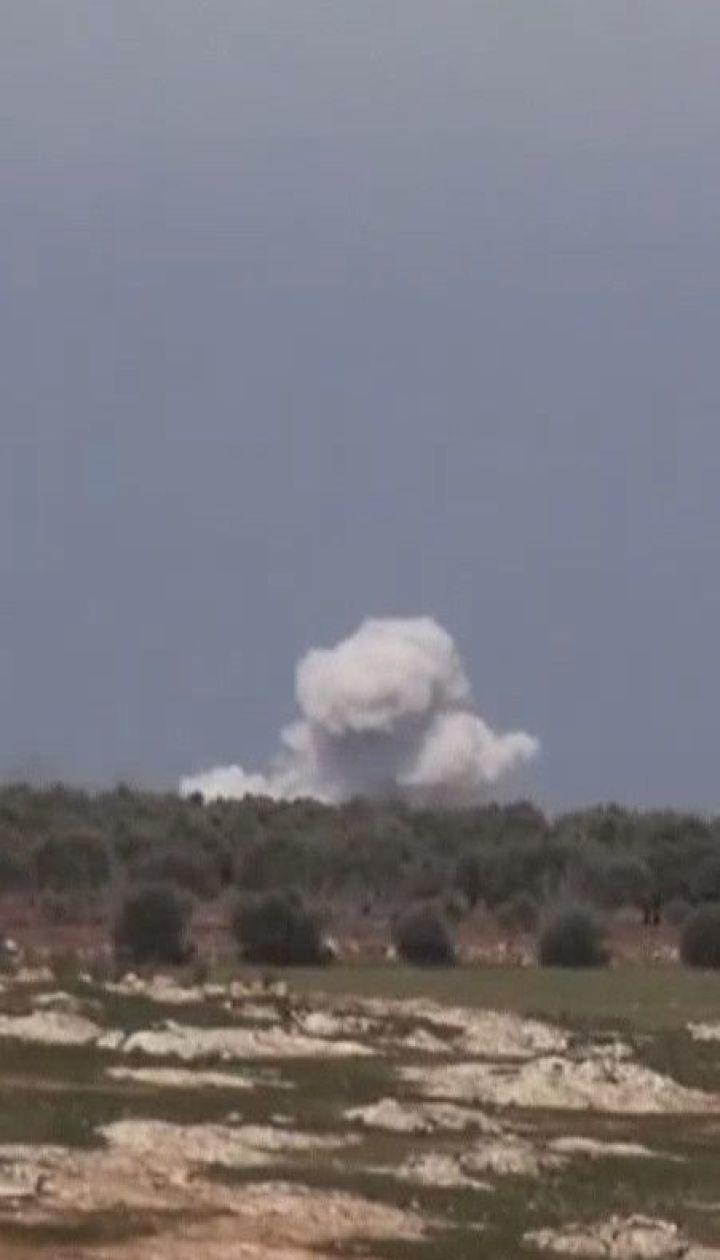 Унаслідок нової атаки російської авіації в Сирії загинули діти