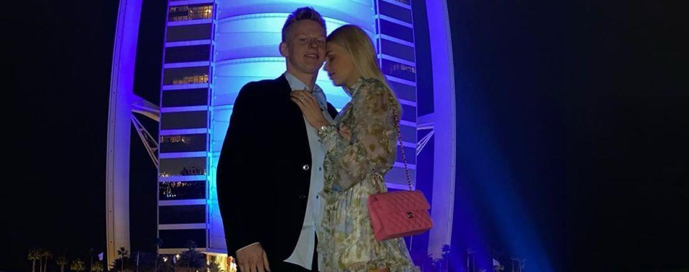 """""""Особливий день"""". Зінченко поділився романтичним фото з коханою"""