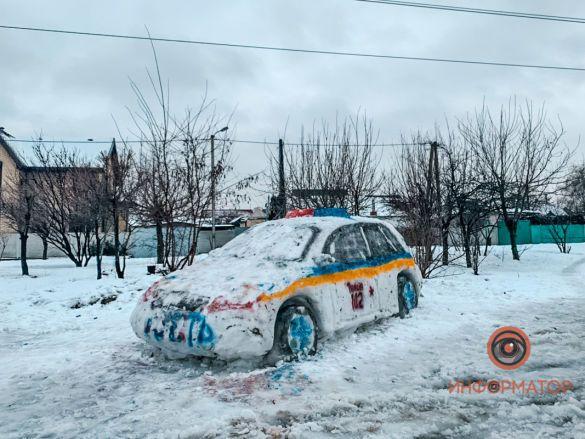 машина зі снігу 2