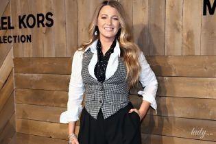 Яка стильна: Блейк Лайвлі на модному шоу в Нью-Йорку