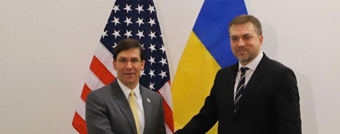 Реформы армии и НАТО: о чем говорил министр обороны Украины с американским коллегой