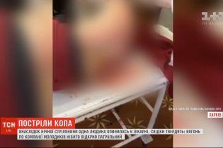 В результате стрельбы в Харькове с участием копов один человек оказался в больнице
