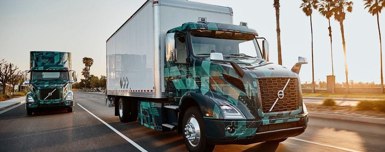 Volvo випускає на тести електричні вантажівки