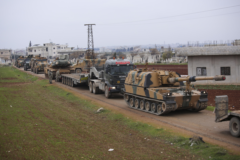Сирія, Турецькі військові