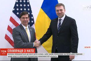 Украина присоединится к миссии НАТО в Ираке