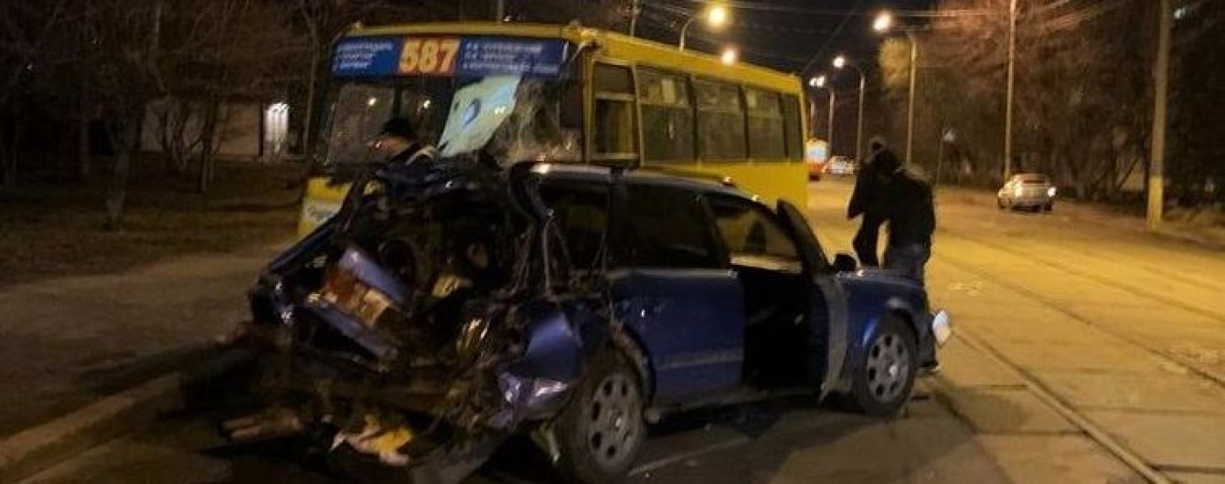 ДТП с пятью пострадавшими на Подоле: выяснилось, что водитель Audi был пьян