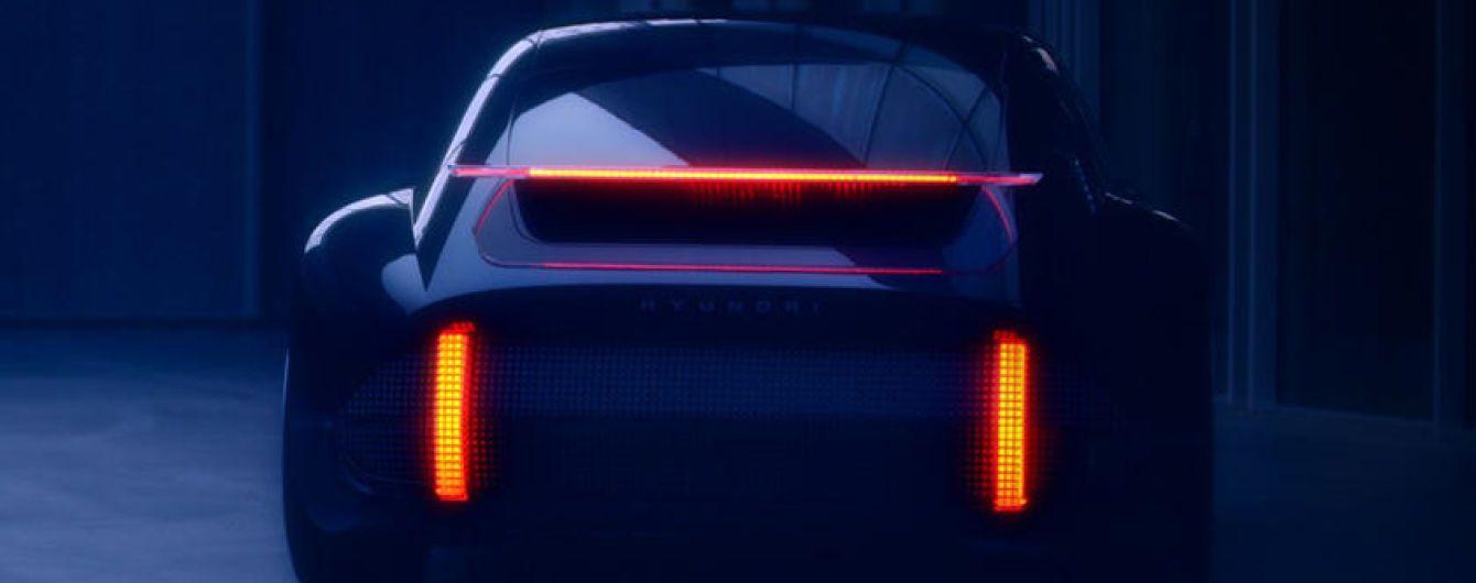 Hyundai показав на тизері електричного конкурента Porsche 911