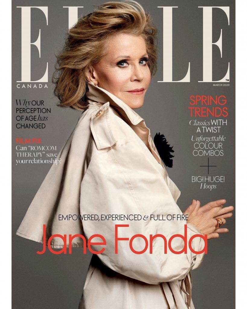 Джейн Фонда для Elle Canada_1