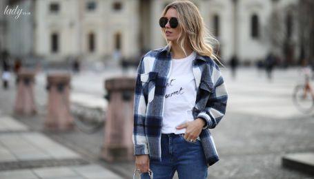Рубашка как верхняя одежда – тенденция из 90-х