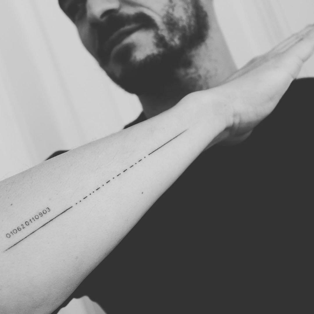Орландо Блум, татуювання