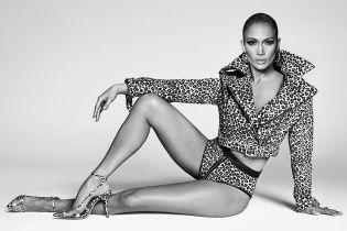 В леопардовых трусах и косухе: Джей Ло поделилась пикантным фото