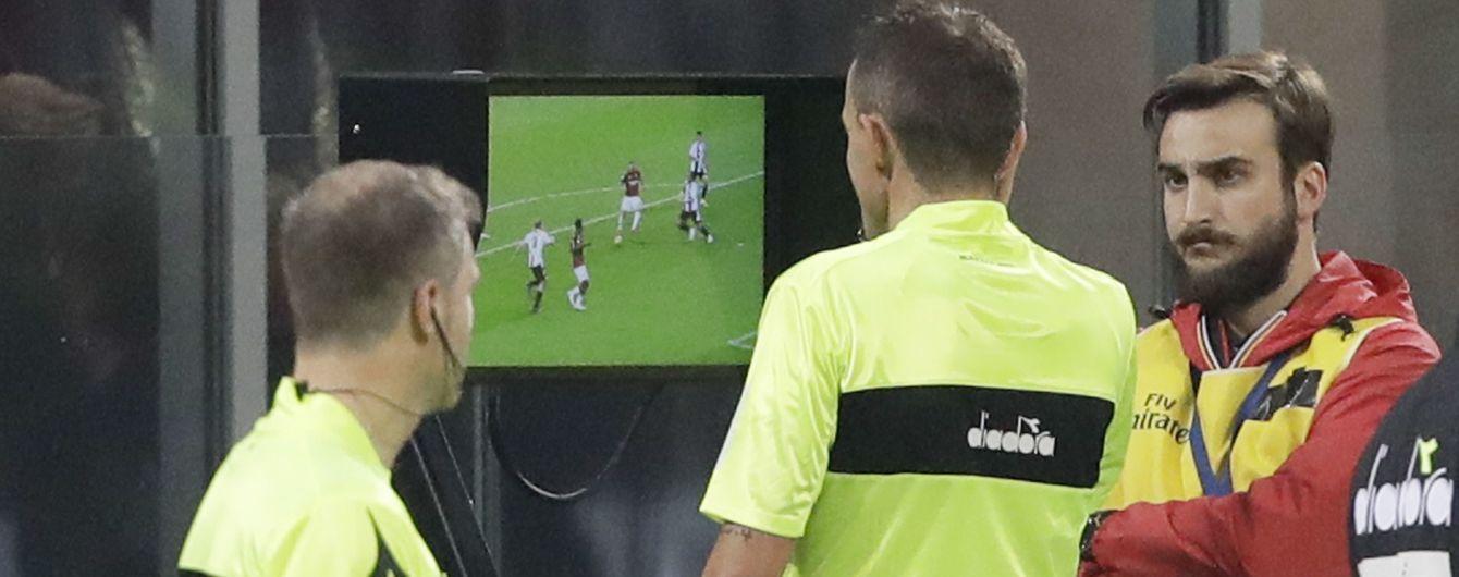 Инновации в VAR. В Италии могут разрешить клубам делать запрос на просмотр видеоповтора