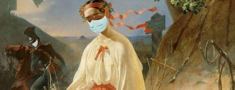 Ван Гог и Мона Лиза в масках: как бы выглядели известные картины, если бы писались во время вспышки коронавируса