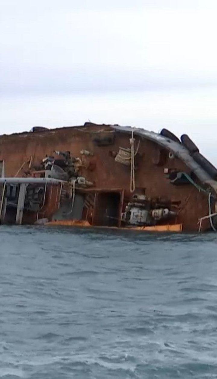 """Власть Одессы просит признать ситуацию с затонувшим танкером """"Делфи"""" чрезвычайной"""