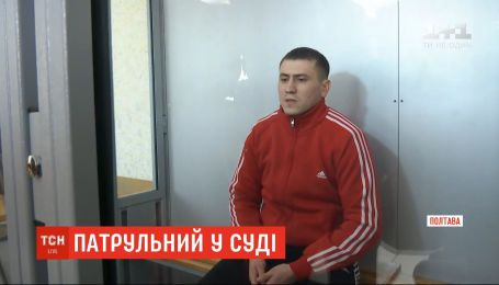 Два месяца ареста без права на залог назначил суд патрульному, который ранил мужчину в Харькове
