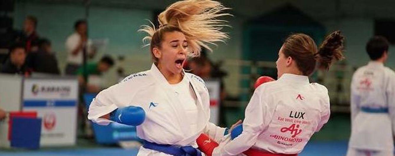 Первая в истории Украины. Каратистка Терлюга получила лицензию на Олимпийские игры-2020
