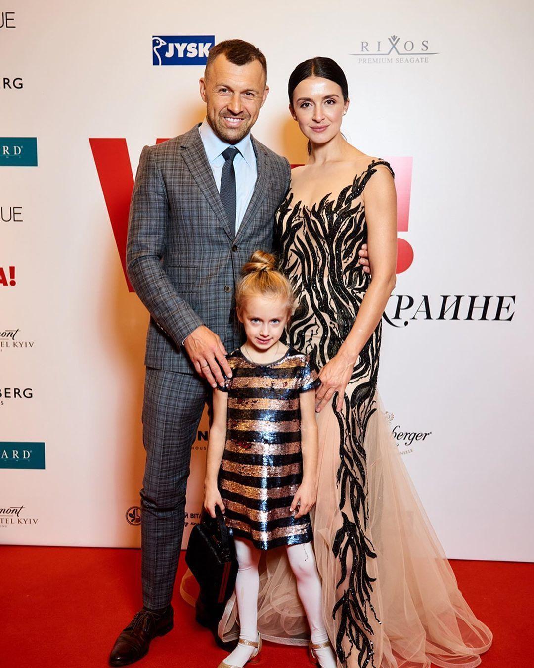 Валентина Хамайко з чоловіком